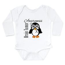 Penguin Brain Tumor Long Sleeve Infant Bodysuit