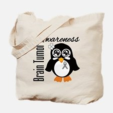 Penguin Brain Tumor Tote Bag