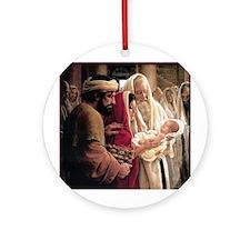 Cute Savior Ornament (Round)