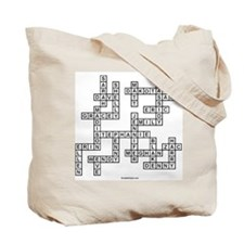 EBNER SCRABBLE-STYLE Tote Bag