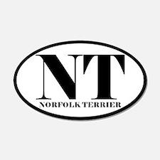 NT Abbreviation Norfolk Terrier Sticker