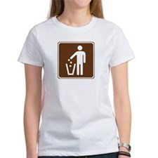 Litter Container Sign Tee