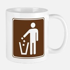 Litter Container Sign Mug