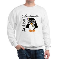 Penguin Autism Awareness Sweatshirt