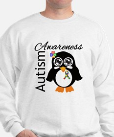 Penguin Autism Awareness Sweatshirt