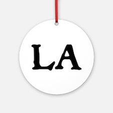 LA Ornament (Round)