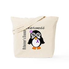 Penguin Alzheimers Disease Tote Bag