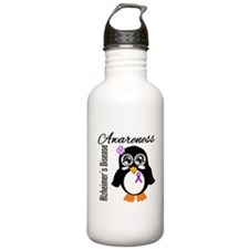 Penguin Alzheimers Disease Water Bottle