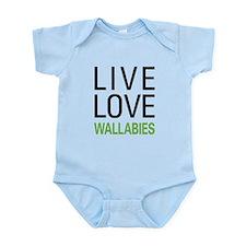 Live Love Wallabies Infant Bodysuit