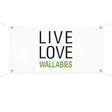 Live Love Wallabies Banner