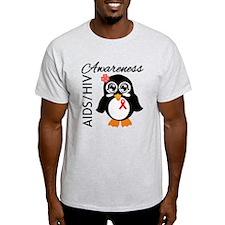 Penguin AIDS Awareness T-Shirt