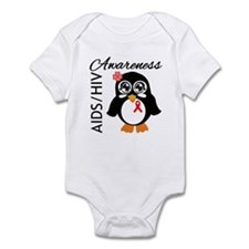 Penguin AIDS Awareness Infant Bodysuit