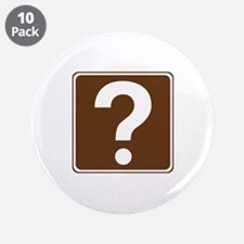 "Information Sign 3.5"" Button (10 pack)"