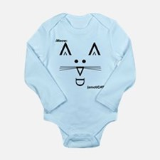 EmotiCat Long Sleeve Infant Bodysuit