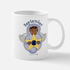 September Baby Angel Birthsto Mug