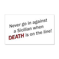 Against a Sicilian 20x12 Wall Peel