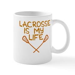 Lacrosse is my life Mug
