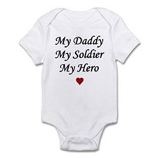 My Daddy My Soldier My Hero Infant Creeper