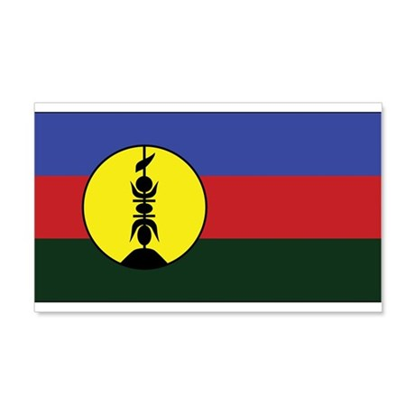 New Caledonia Flag 20x12 Wall Peel