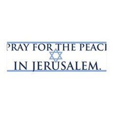 """Peace in Jerusalem"""