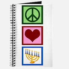 Peace Love Hanukkah Journal