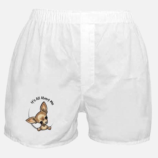 Tan Chihuahua IAAM Boxer Shorts