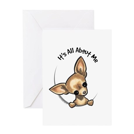 Tan Chihuahua IAAM Greeting Card