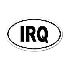IRQ 20x12 Oval Wall Peel