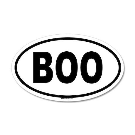 BOO 35x21 Oval Wall Peel
