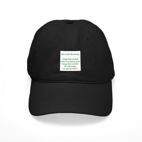 An Irish Blessing Black Cap