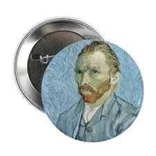 "Cute Van gogh 2.25"" Button"