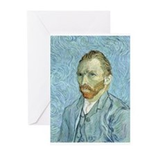 Funny Vincent van gogh Greeting Cards (Pk of 10)