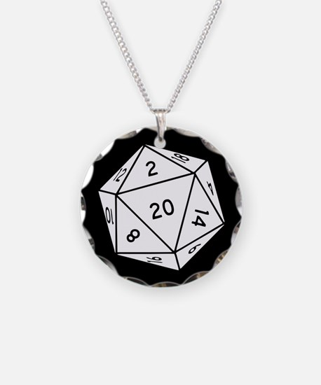 D20 Dice Necklace