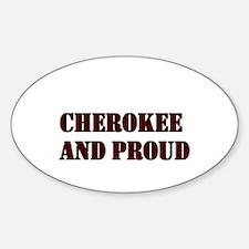 cherokee Oval Decal