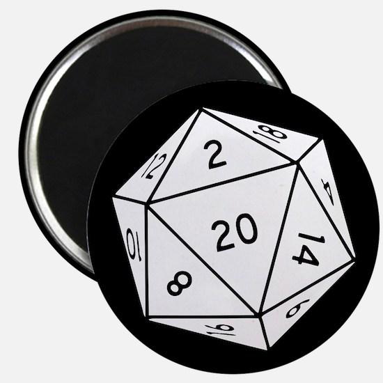 D20 Dice Magnets