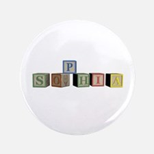 "Sophia Alphabet Block 3.5"" Button (100 pack)"