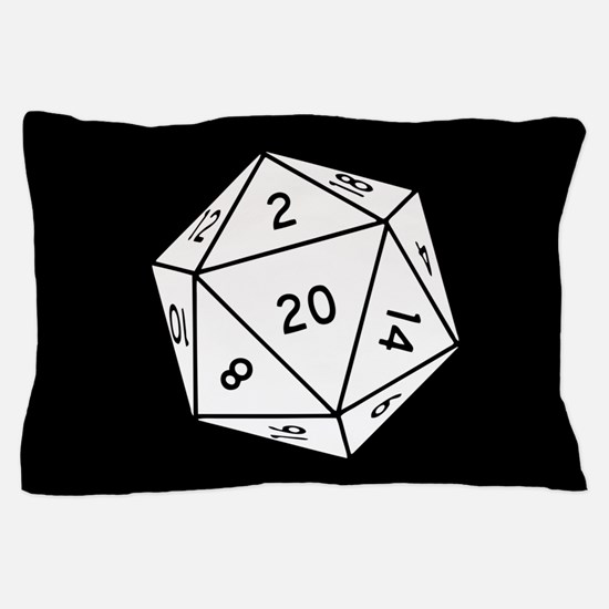 D20 Dice Pillow Case