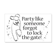 Party! 20x12 Wall Peel