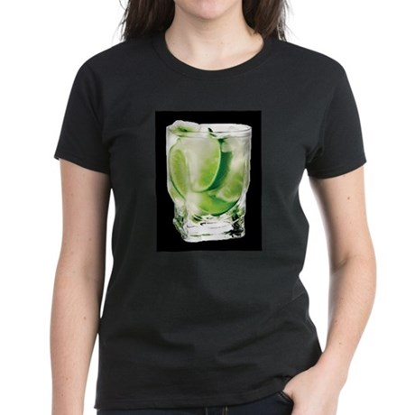 Vodka Lime Women's Dark T-Shirt