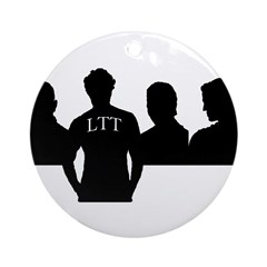LTT Rushmore Ornament (Round)