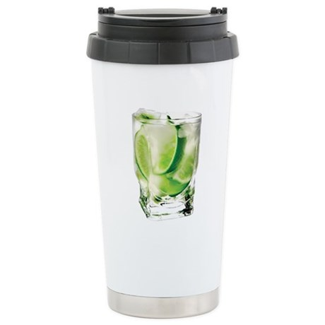 Vodka Lime Stainless Steel Travel Mug