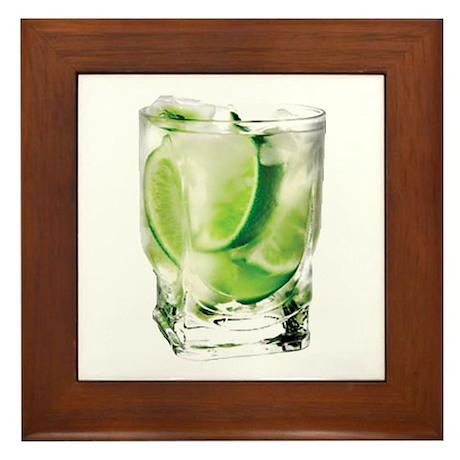 Vodka Lime Framed Tile