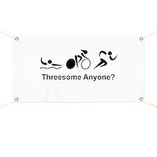 Unique Triathlon Banner