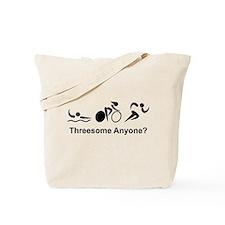 Cute Swim bike run Tote Bag