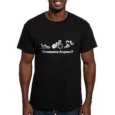 Triathlon Threesome White T-Shirt