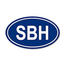 SBH 20x12 Oval Wall Peel