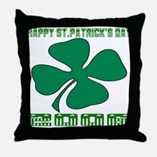HAPPY ST. PATRICK'S DAY 2006 Throw Pillow