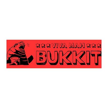 Viva Mah BUKKIT! 36x11 Wall Peel