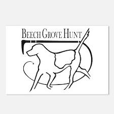 Beech Grove Hunt Postcards (Package of 8)