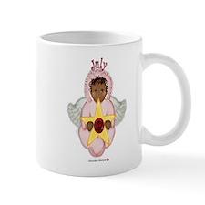 July Baby Angel Birthstone Mug